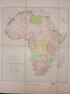 After the First World War, large areas of Africa formerly controlled by Germany were governed under League of Nations mandates. Germany has completely disappeared from the map of Africa.