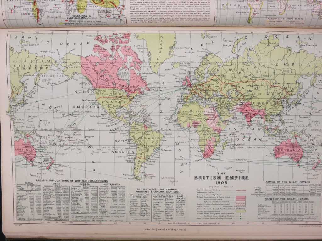 British Empire 1908