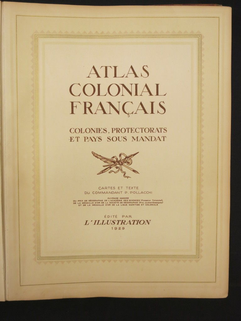 Atlas Colonial Francais