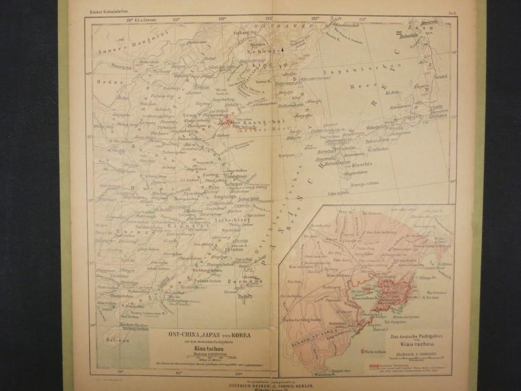 Ost-China, Japan und Korea mit dem deutschen Packtgebiete Kiau-tschou