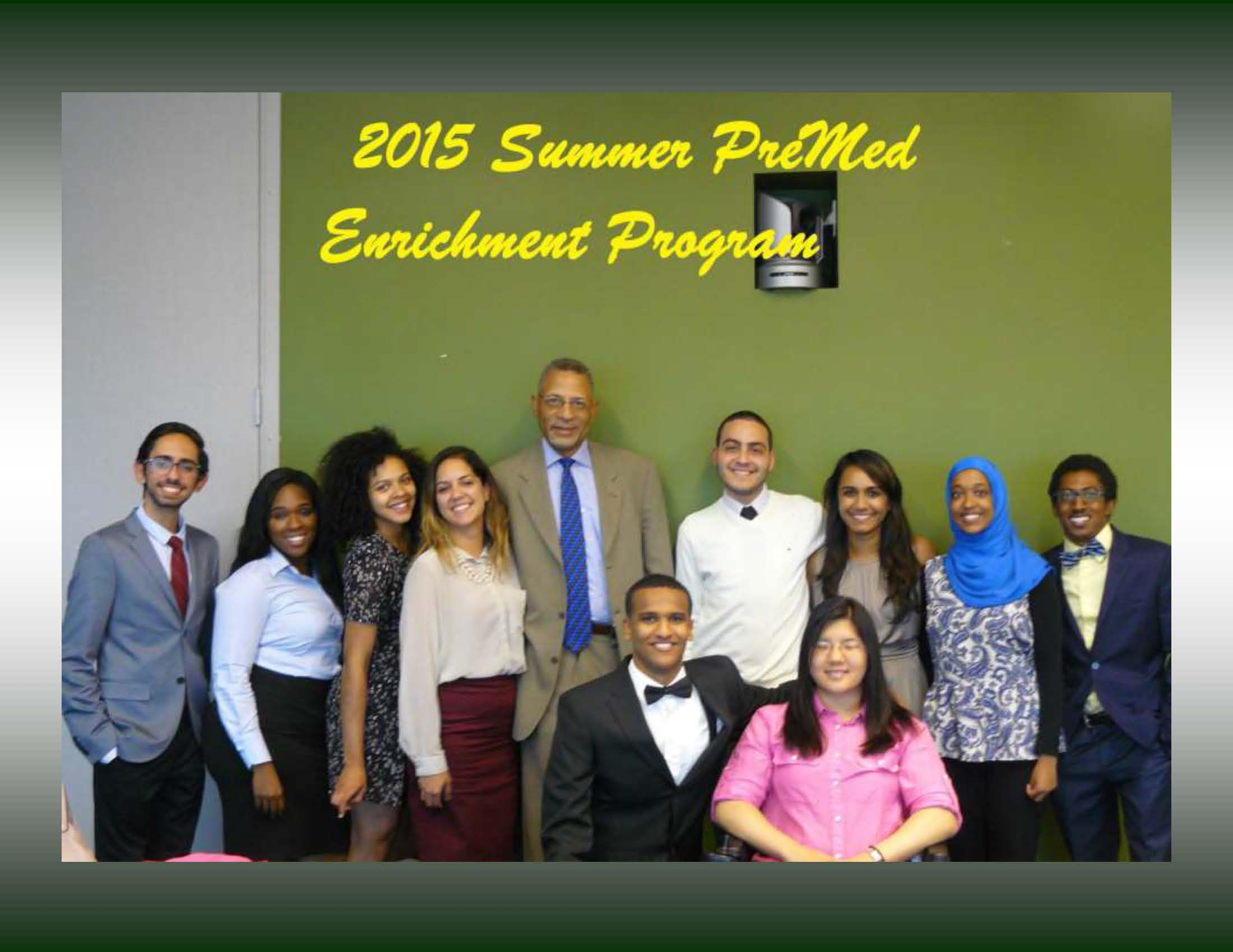 summer pre med enrichment program for underrepresented minority jcj w summer student 2015 2