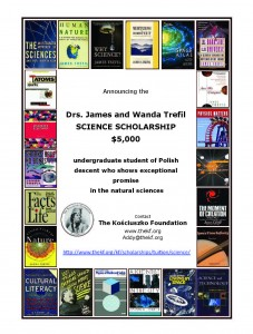 Trefil Science Scholarship $5,000