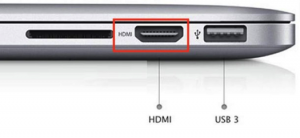 HDMI port photo