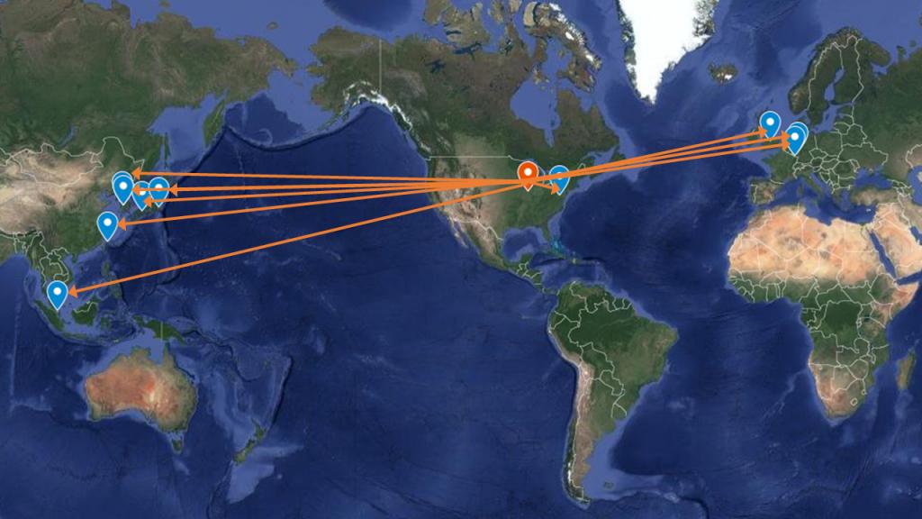 NRT partner map