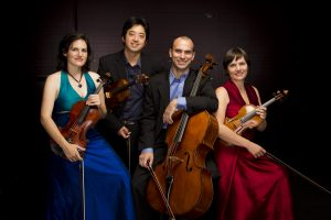Jupiter String Quartet at Studio Theatre, Krannert Center for the Performing Arts