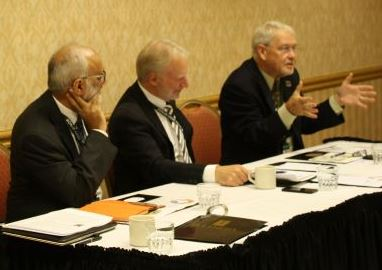 Panelists gave important insights on the role of science and innovation in curbing postharvest losses. © ADM Institute