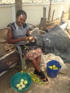 An orange trader in Aliade, Benue State, Nigeria / Sarem Ugoh, University of Nottingham