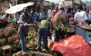 Kasubi market in Kampala, Uganda / K. Troeger, 2015