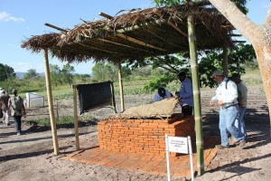 A Zero Energy Cooling Chamber at a Postharvest Training and Services Center in Arusha, Tanzania. / Credit: Horticulture Innovation Lab, UC-Davis