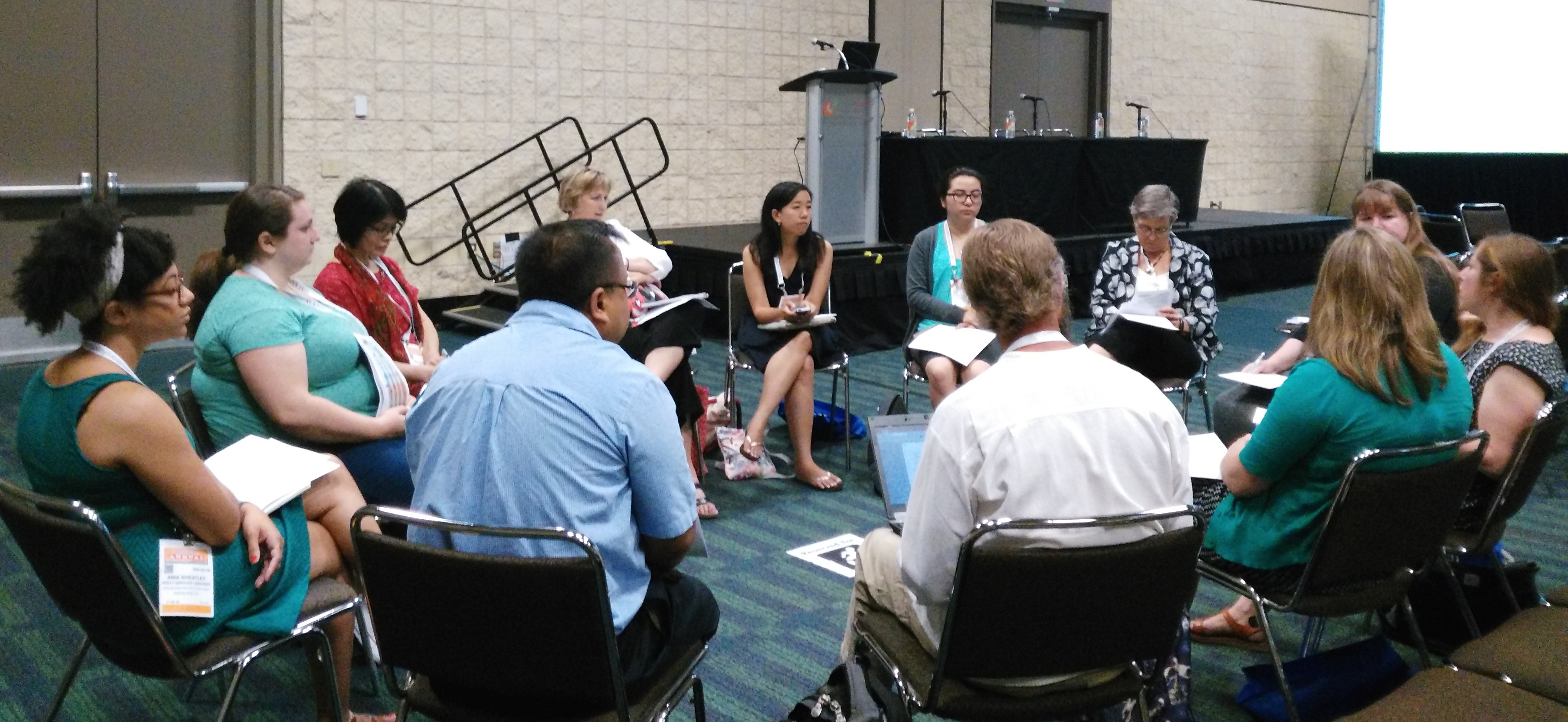 Project Welcome discussion at ALA 2016