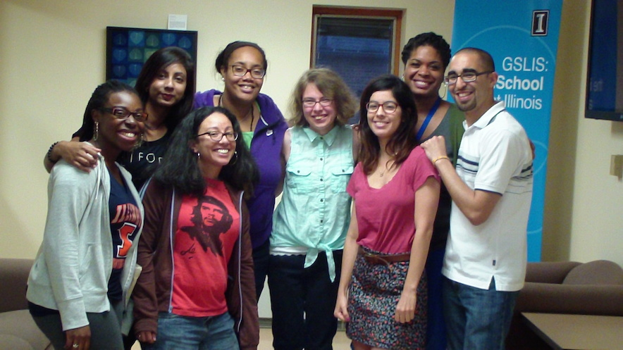 GSLIS Students of Color, Sept. 2014
