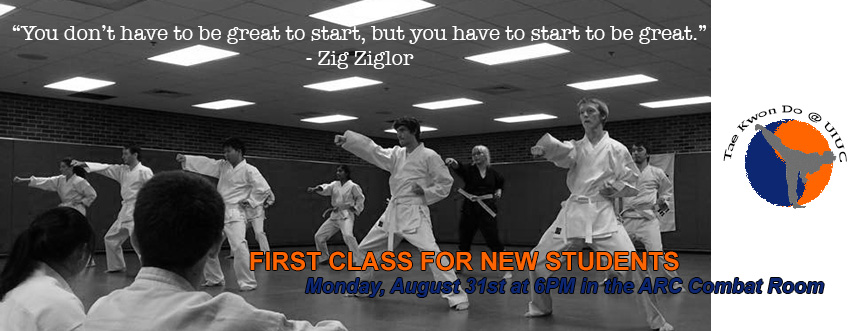 class August 31st at 6PM