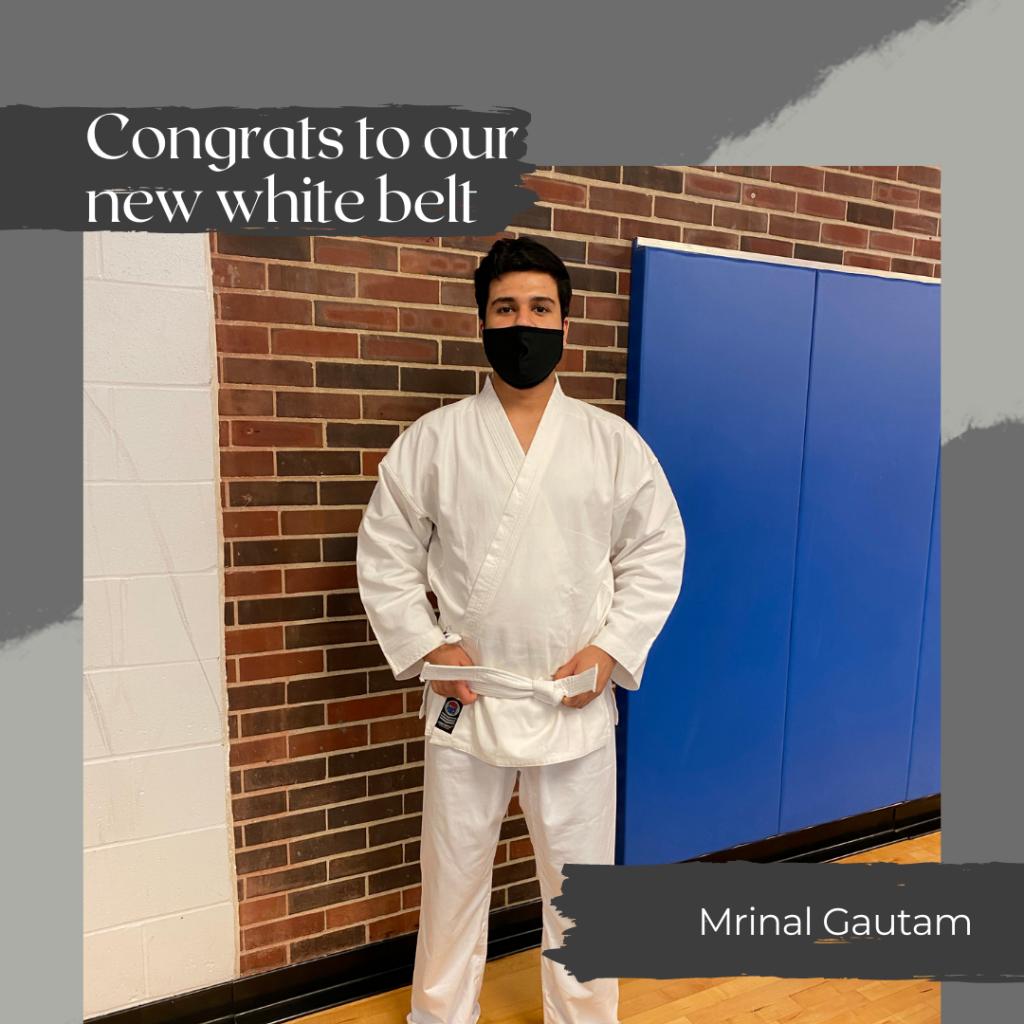 Mrinal - New White Belt
