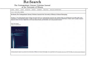 Re:Search site