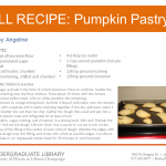 Pumpkin Pastry from Angeline