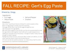 Egg Paste from Gregg