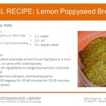 Lemon Poppyseed Bread from Holly