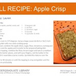 Apple Crisp from Lauren