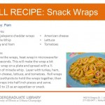 Snack Wraps from Pam