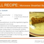 Microwave Breakfast Bars from Quetzalli