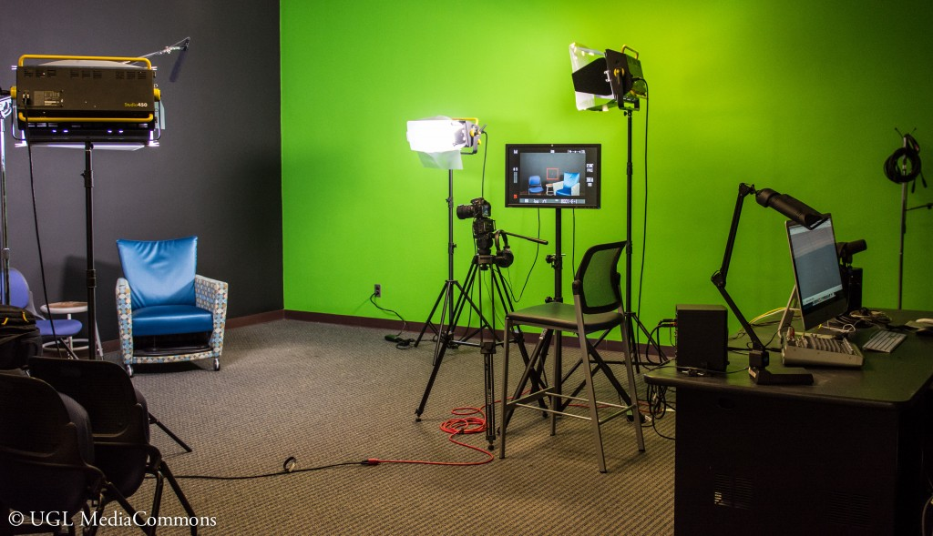 Video Production Room. Photo Courtesy of the UGL Media Commons