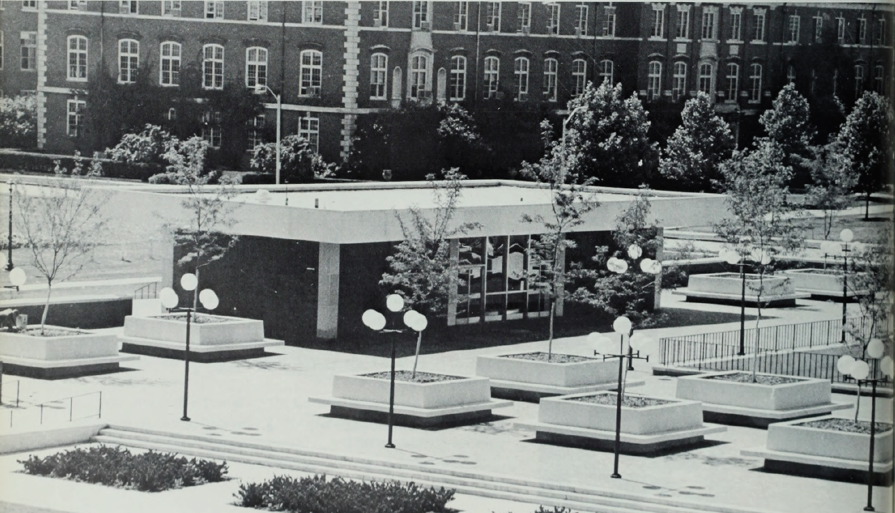Historic view of the UGL in 1970.