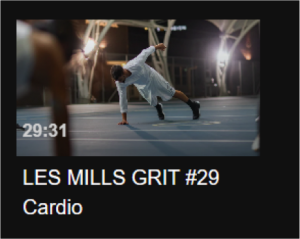 Video still of LES MILLS GRIT #29 Cardio