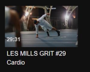 Video still of LES MILLS GRIT #29 Cardio