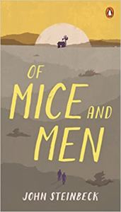 book cover of Of Mice and Men by John Steinbeck