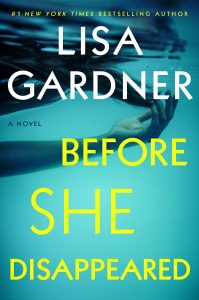 Book cover for Before She Disappeared