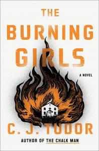 Book cover for The Burning Girls