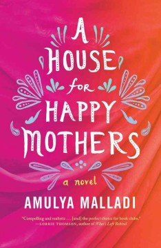 Image with stylized words that says A House For Happy Mothers