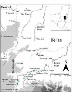Arch Sites in Belize