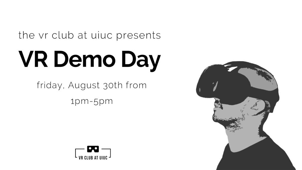 VR Demo Day advertisement