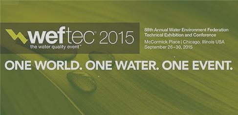 WEFTEC 2015