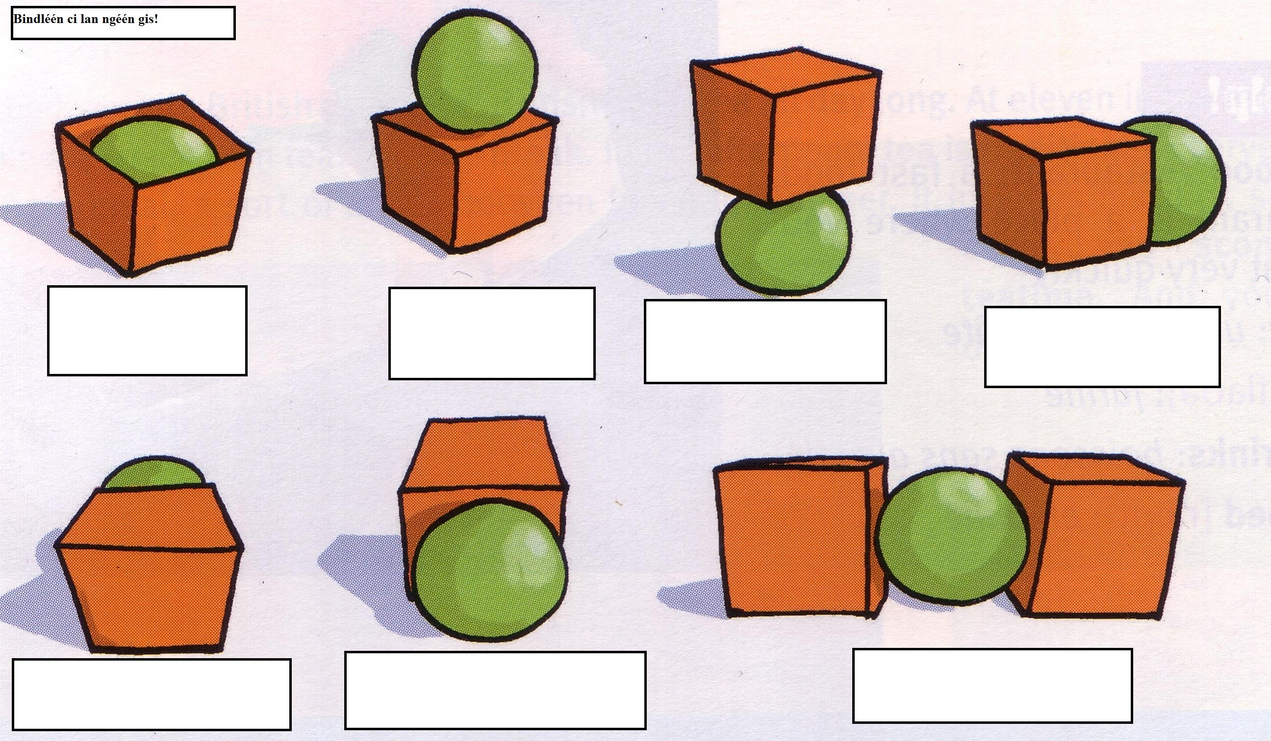 Prepositions Elementary Wolof 201 University Of