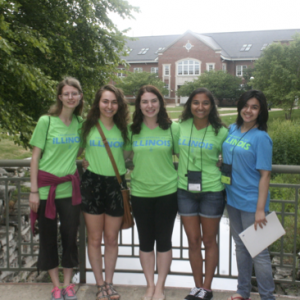 Myra's Group at WIE Orientation