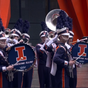 Marching Illini Pep Rally
