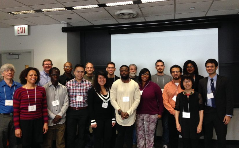 Group photo at the 1st Annual URM Workshop at the U. of Chicago