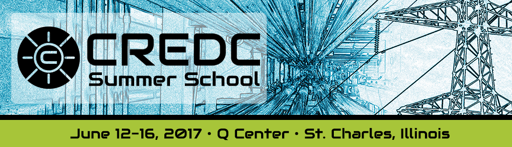 2017 CREDC Summer School