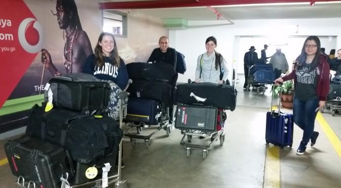 Day 2: Arrive in  Nairobi, Kenya