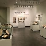 The exhibit is on display in the Ellen and Nirmal Chatterjee Exhibition Gallery in RBML.