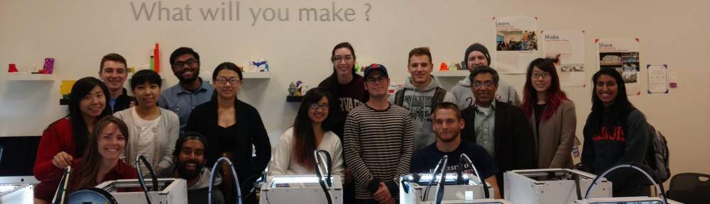 Digital Making at the MakerLab- Spring 2016