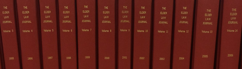 The Elder Law Journal