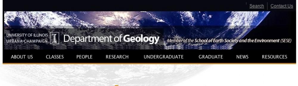 Geology Department Undergrad Research
