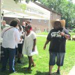 block party at Silverwood, Urbana, 2021
