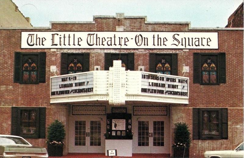 Little Theater on the Square, located in Sullivan, Illinois