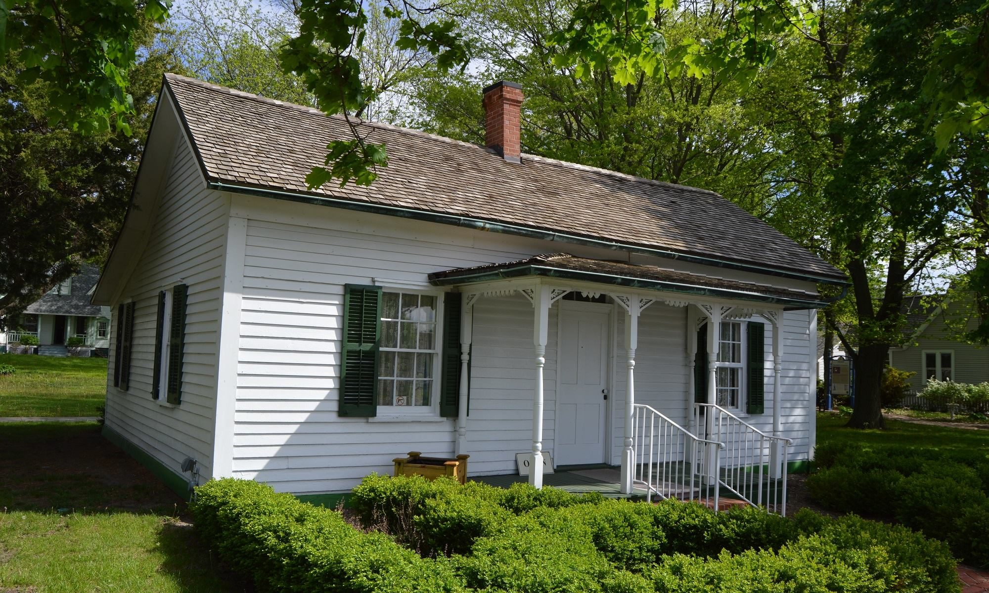 Bement Cottage, where Lincoln and Douglas met