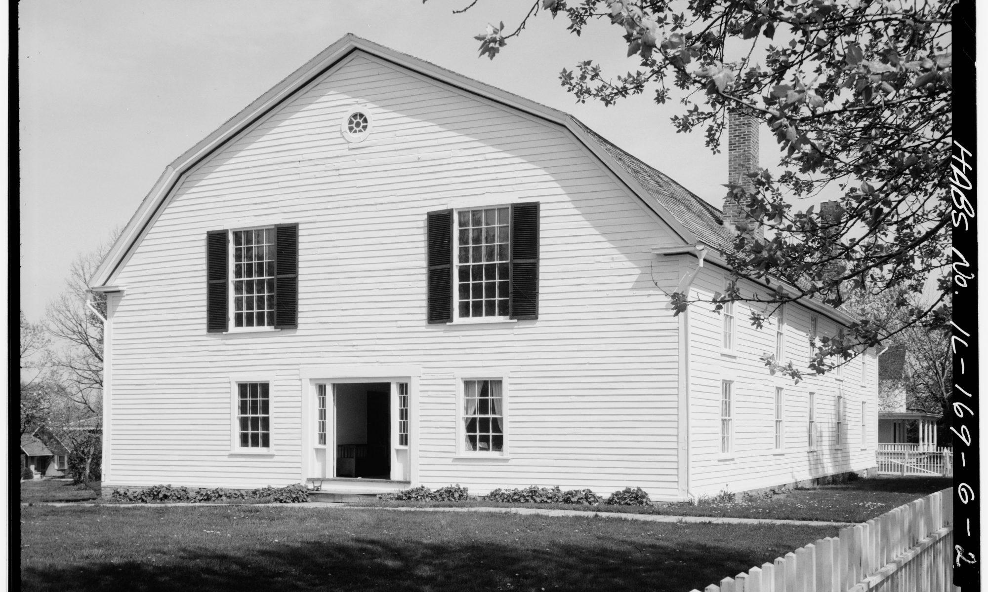 Colony Church in Bishop Hill, IL