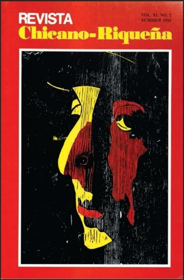 A cover from Revista Chicano-Riqueña